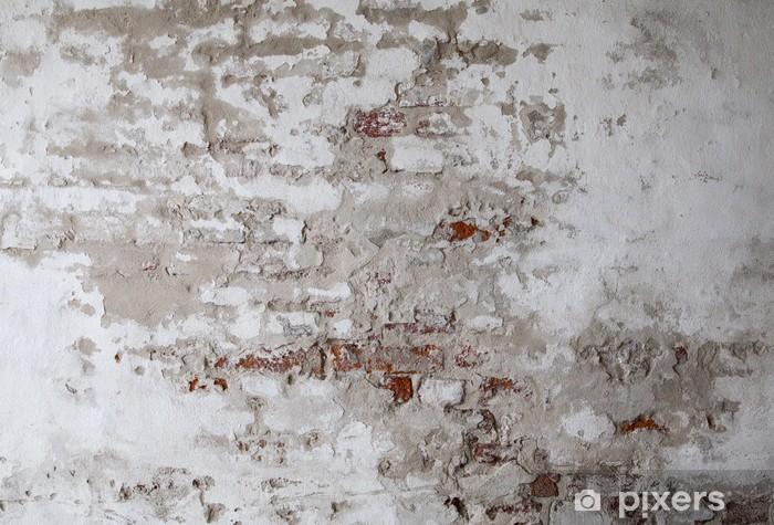 papier peint vieux mur de brique rouge avec le beton fissure pixers nous vivons pour changer