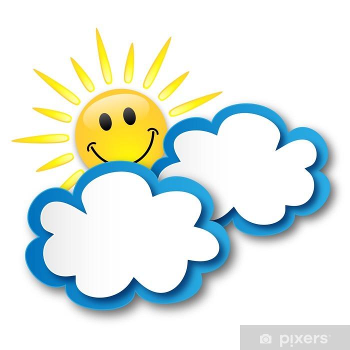 Fototapete Sunny Spell Sonne Wolken Wettervorhersage