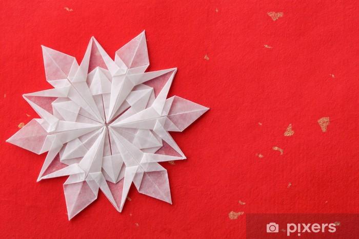 Carta Da Parati In Vinile Natale Carta Fiocco Di Neve 3d