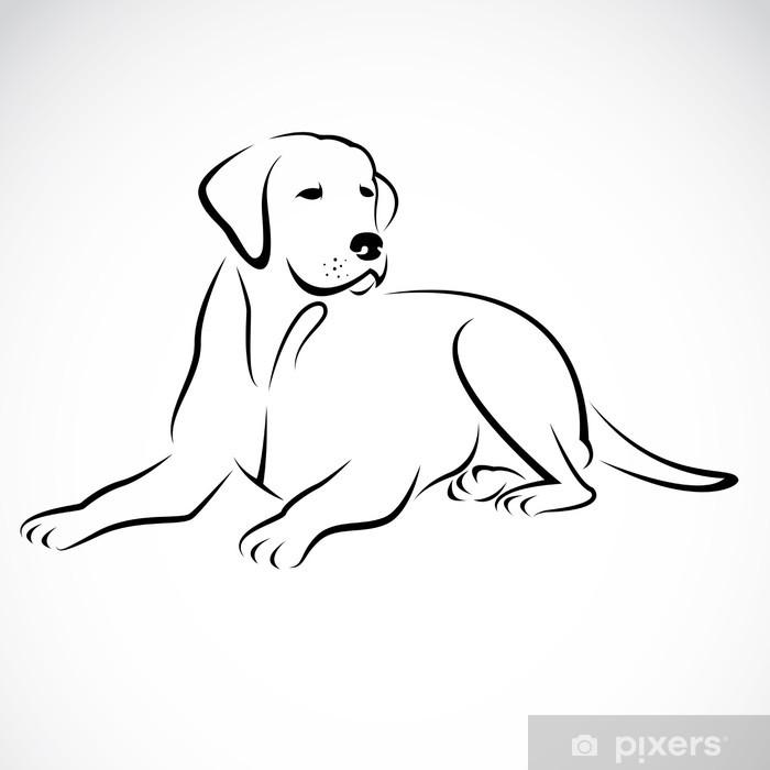 Imagenes Para Colorear De Perros Labradores - Impresion