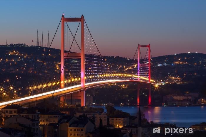 Fototapete BosporusBrcke Istanbul  Pixers  Wir leben