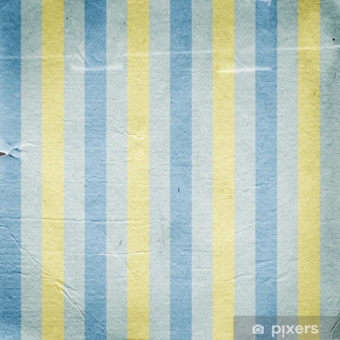 https pixers fr papiers peints vintage raye bleu fond de papier jaune 58592046