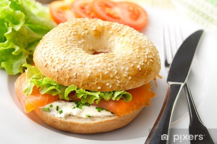 https pixers fr papiers peints bagel au saumon fume 59015665