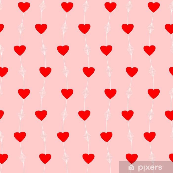 Questo 3d hearts glitter wallpaper utilizza l'ombreggiatura per un effetto 3d e starebbe benissimo come parete caratteristica o se usato per decorare. Carta Da Parati Seamless Pattern Con Cuori Rossi Pixers Viviamo Per Il Cambiamento
