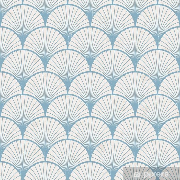 seamless retro japanese pattern