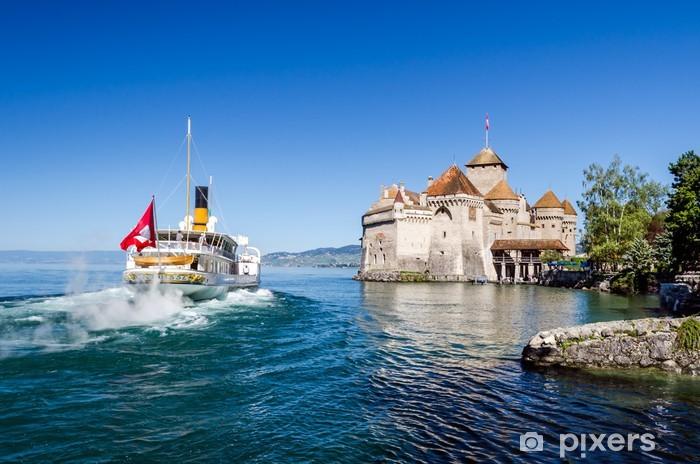Carta da Parati Castello di Chillon Montreux Svizzera  Pixers  Viviamo per il cambiamento