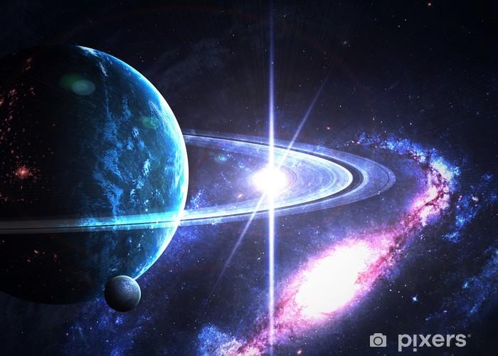 Fototapete Ringe des Saturn  Pixers  Wir leben um zu