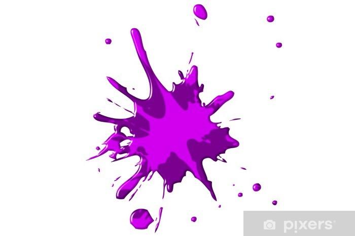 Carta da Parati Macchie di colore  viola  rosa  Pixers  Viviamo per il cambiamento