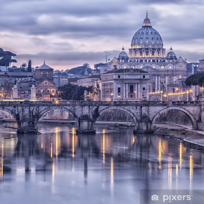 In dubbio perché abbiamo visto che la maggior parte delle volte viene applicata dietro al letto. Rome And The River Tiber At Dusk Sticker Pixers We Live To Change