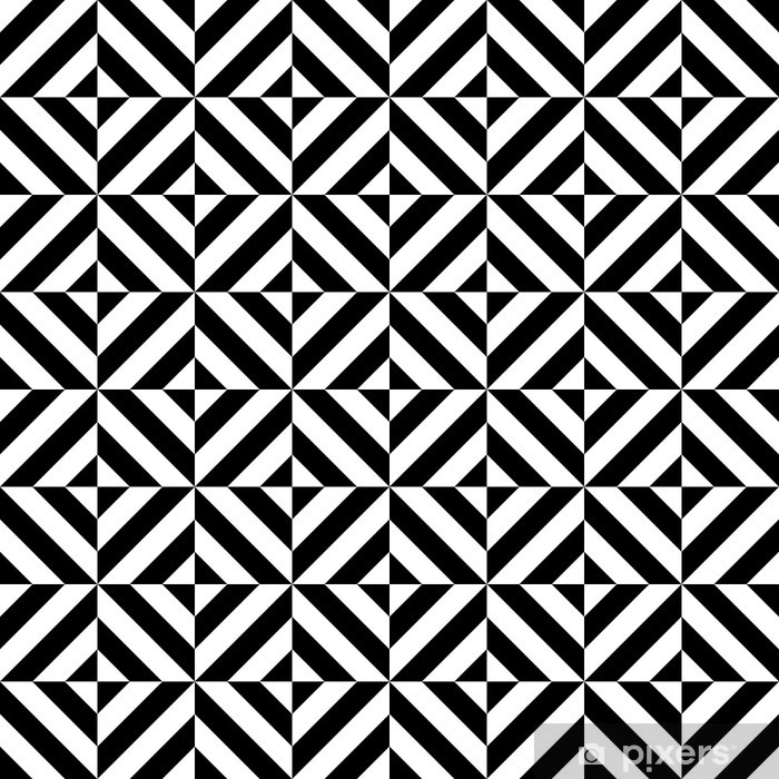 tapis de bain forme geometrique de diamant seamless noir et blanc vecteur pixers nous vivons pour changer