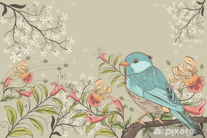 Fenicotteri, tucano, pappagallo e temi legati alla giungla. Carta Da Parati Fiori E Uccelli Pixers Viviamo Per Il Cambiamento