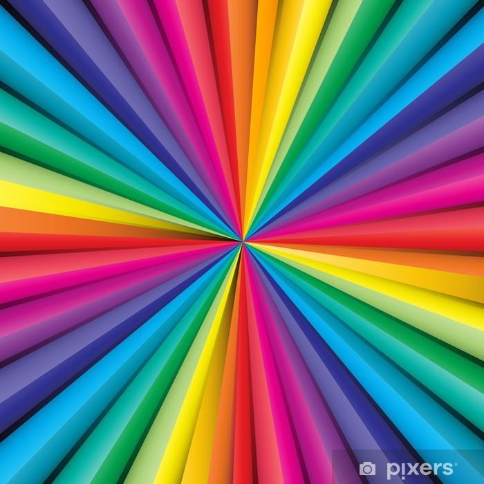 Carta da Parati Astratto sfondo a strisce con i colori dellarcobaleno  Pixers  Viviamo per