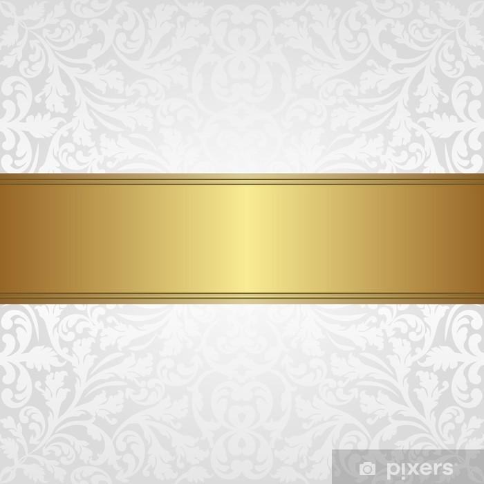 Casadeco marchio francese con tessuti e carte da parati freschi ed attuali. Carta Da Parati Sfondo Bianco E Oro Pixers Viviamo Per Il Cambiamento