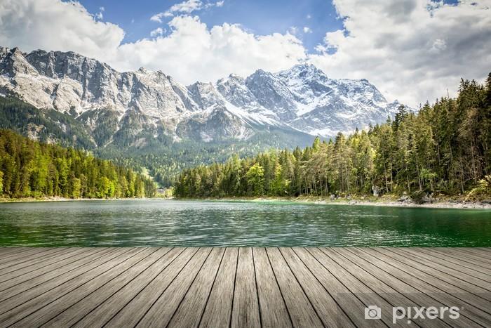 Fototapete Eibsee Zugspitze  Pixers  Wir leben um zu verndern
