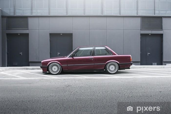 Aufkleber BMW E30  Pixers  Wir leben um zu verndern