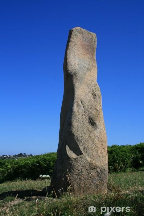 Dolmen Menhir : dolmen, menhir, Bretagne,menhir,dolmen, Mural, Pixers®, Change