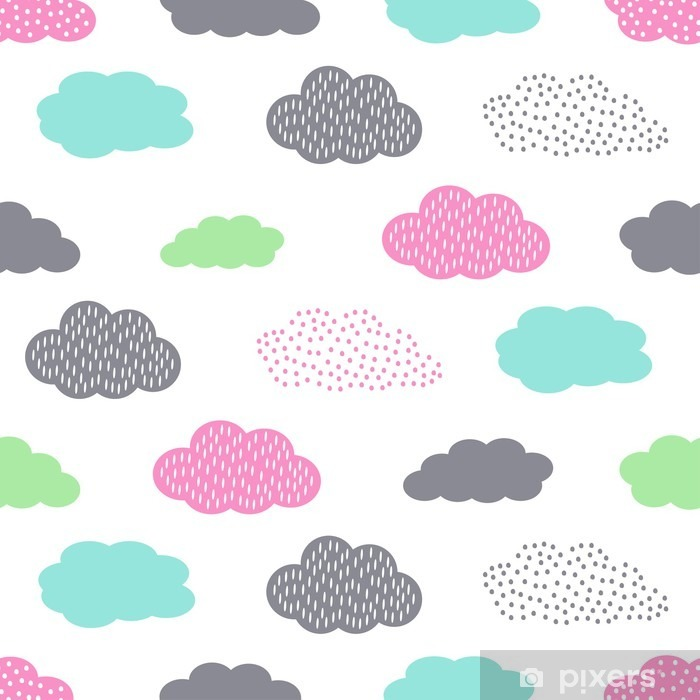 colorful seamless pattern with