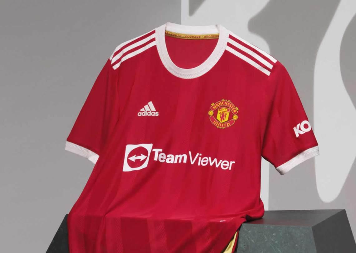 Camiseta adidas del Manchester United 2021/2022
