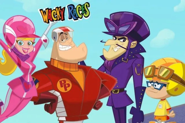 which wacky races character