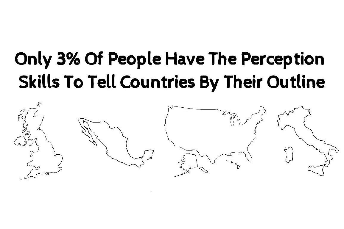Only 3% Of People Have The Perception Skills To Tell