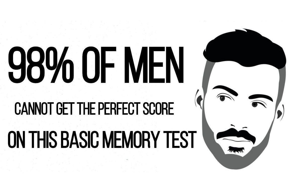 98% Of Men Cannot Get The Perfect Score On This Basic