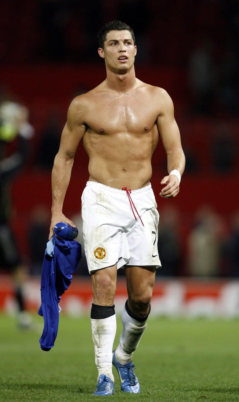 Ronaldo Muscle : ronaldo, muscle, Daily:, Cristiano, Ronaldo's, Fitness, Secrets, Pizza