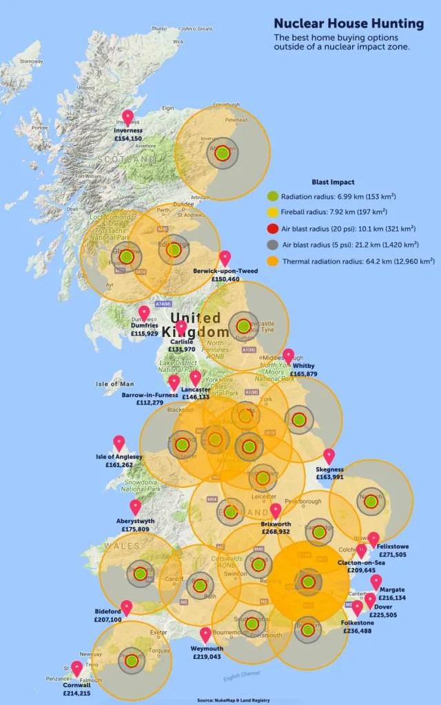 bizarre map reveals best