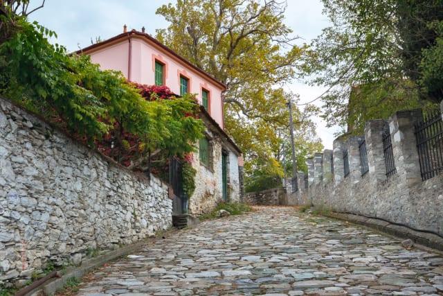 Ίσως το δημοφιλέστερο χωριό του Πηλίου, το πρώτο που συναντάς ανεβαίνοντας από τον Βόλο, η Πορταριά μπορεί να είναι ένα τσικ πιο τουριστική απ' όσο θα θέλαμε, παραμένει όμως πανέμορφη, με τα παραδοσιακά πηλιορείτικα αρχοντικά της, τα λιθόστρωτα καλντερίμια, τις λουλουδιασμένες αυλές της, τις πέτρινες βρύσες και τη φαντασμαγορική της θέα στον Βόλο και στην θάλασσα. Οι λάτρεις της πεζοπορίας έχουν ακόμα έναν λόγο να την αγαπούν: Το τριών χιλιομέτρων Μονοπάτι των Κενταύρων, που κάνει τον γύρο του χωριού περνώντας από εκκλησάκια, ρεματιές και παραδοσιακά αρχοντικά. Ξεκινά από το εκκλησάκι της Αγίας Μαρίνας, στην είσοδο του χωριού.