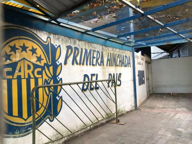 Los hinchas de Rosario Central sostienen que son el primer grupo de su tipo en el país