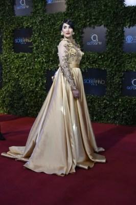 Diseño de vestido: Melkis Díaz