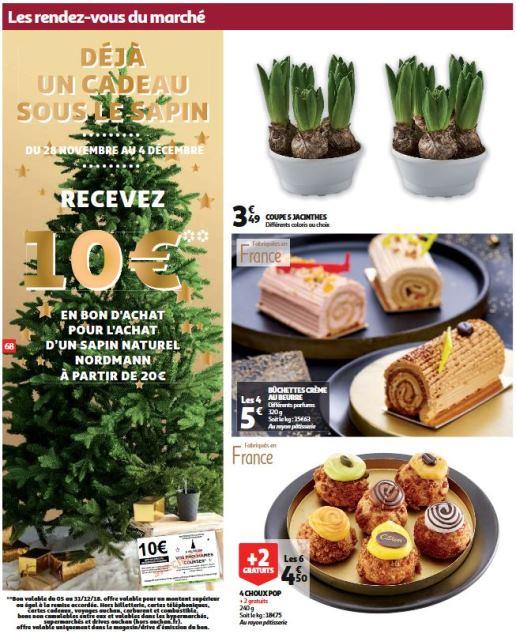 Sapin Auchan Noël 2018 Bon Dachat De 10 Offert