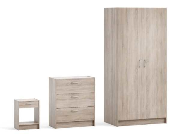 cdiscount pack de 3 meubles armoire