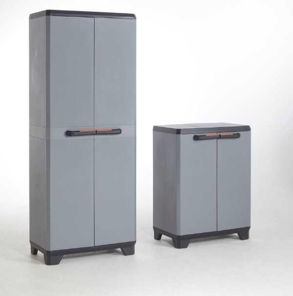 armoire rangement resine carrefour