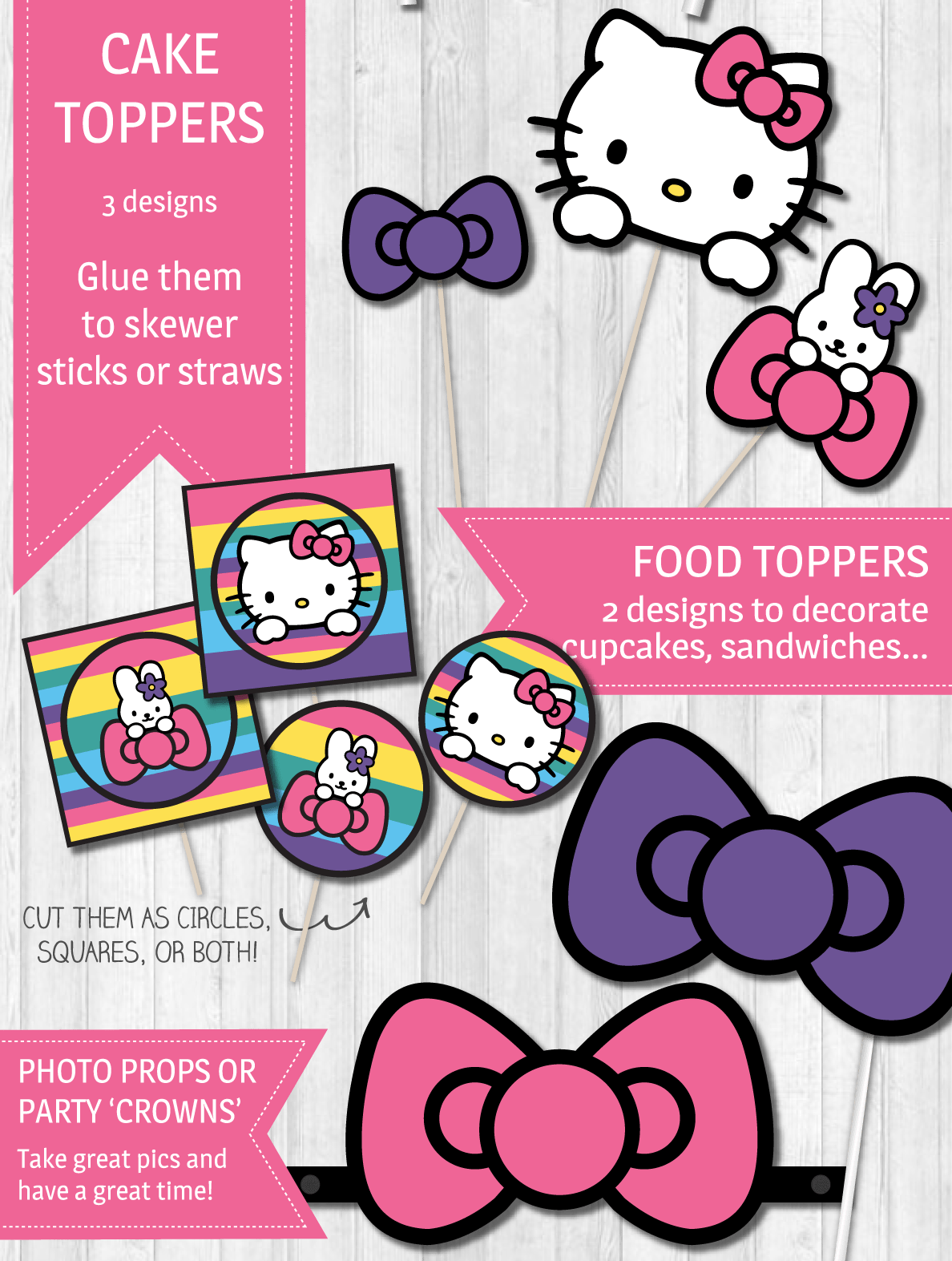 Hello Kitty Party Png Amp Free Hello Kitty Party Png