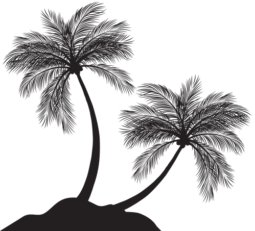 small resolution of png tree silohuette 100 free clipart palm tree silhouette free images at clker com
