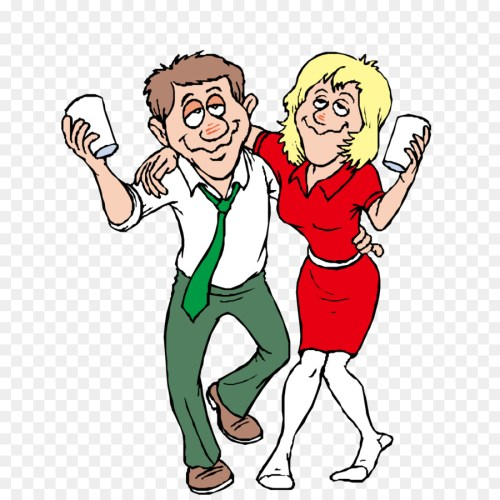 small resolution of alcohol intoxication free content clip art drunken men and women