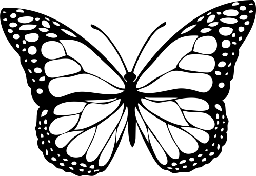 small resolution of butterfly clipart black and white png 6 png image