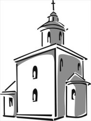 Free Church Png Black And White & Free Church Black And White png Transparent Images #26076 PNGio