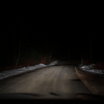 Driving Down A Dark Road Stock Video Foo 455786 Png Images Pngio
