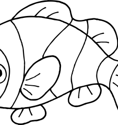 free fish images black and white download free clip art free  [ 2587 x 1586 Pixel ]