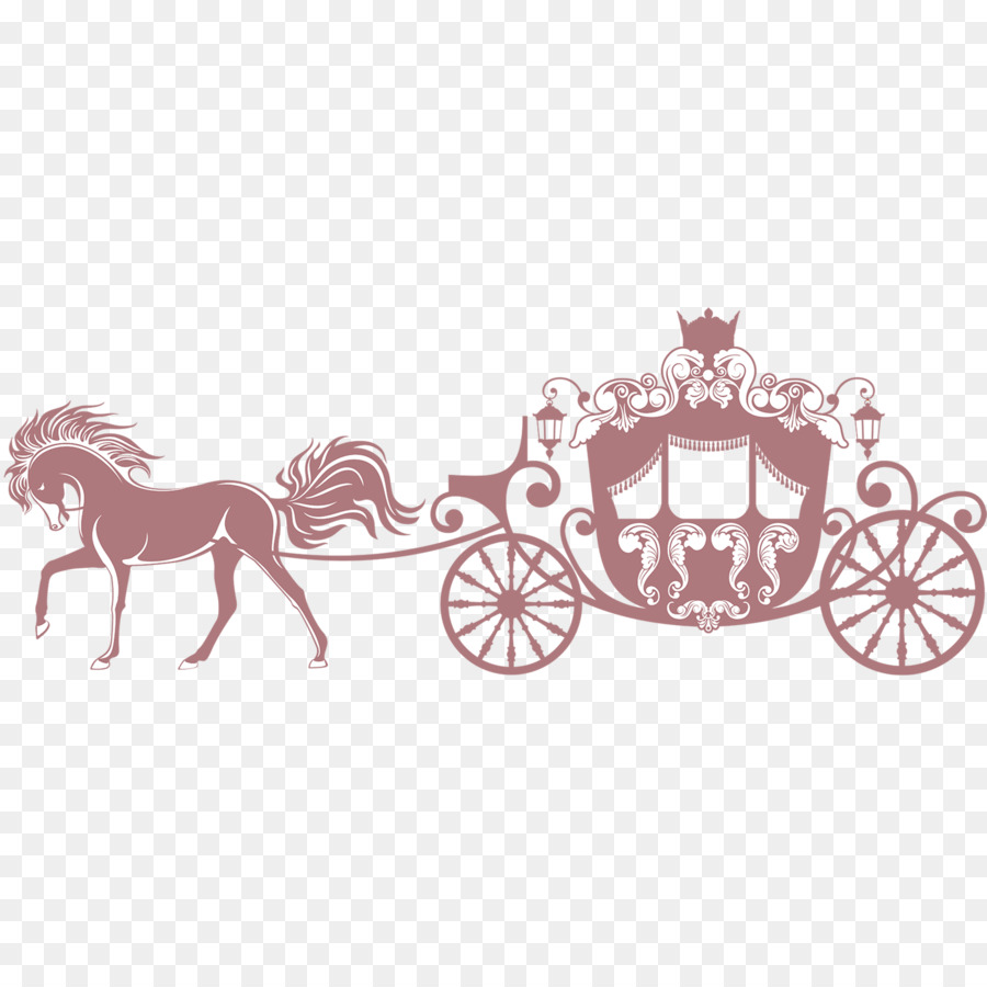 hight resolution of horse carriage clip art princess s carriage png download 1500