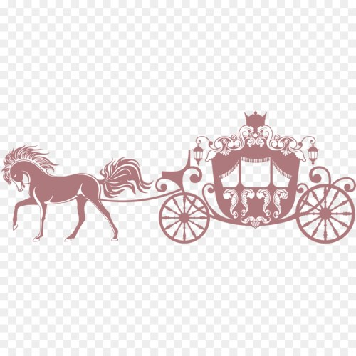 small resolution of horse carriage clip art princess s carriage png download 1500