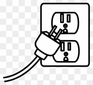 Plug Png Black And White & Free Plug Black And White.png