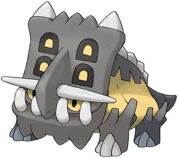 Bastiodon artwork by Ken Sugimori