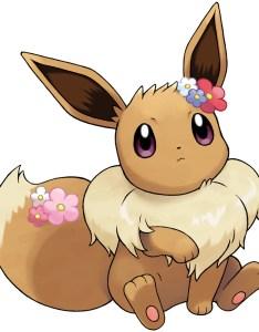 Eevee partner artwork by ken sugimori also pokedex stats moves evolution  locations pokemon database rh pokemondb