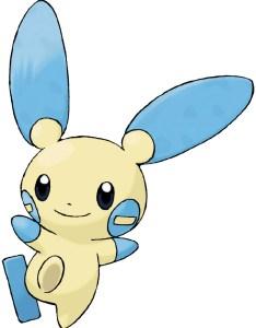 Minun also pokedex stats moves evolution  locations pokemon database rh pokemondb
