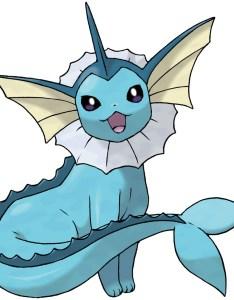 Vaporeon also pokedex stats moves evolution  locations pokemon database rh pokemondb