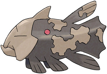 Relicanth artwork by Ken Sugimori