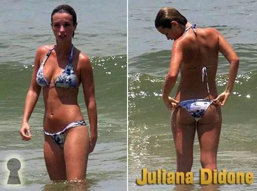 Juliana Didone de Biquini na Praia