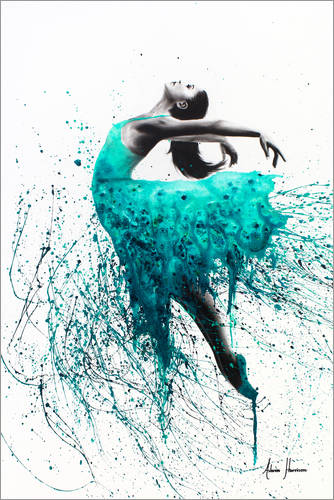 Kingfisher dance Posters and Prints  Posterloungecouk